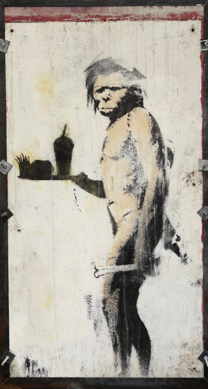 Artist, BANKSY_The Caveman
