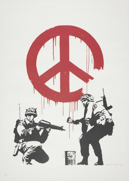Artist, Banksy_CND Soliders 2005 edition 294 350