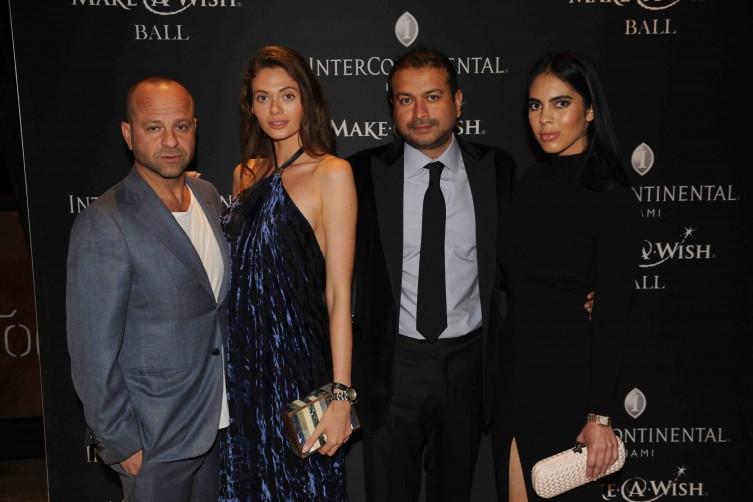 Arty Dozortsev, Anna Tyson, Kamal Hotchandani and Deyvanshi Masrani