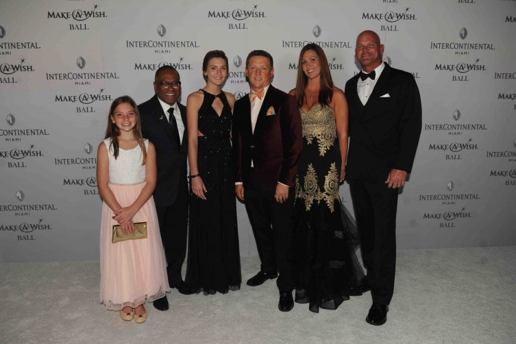 Claire White, Norm Wedderburn, Madison White, Robert Hill, Jacqueline White and Jim White