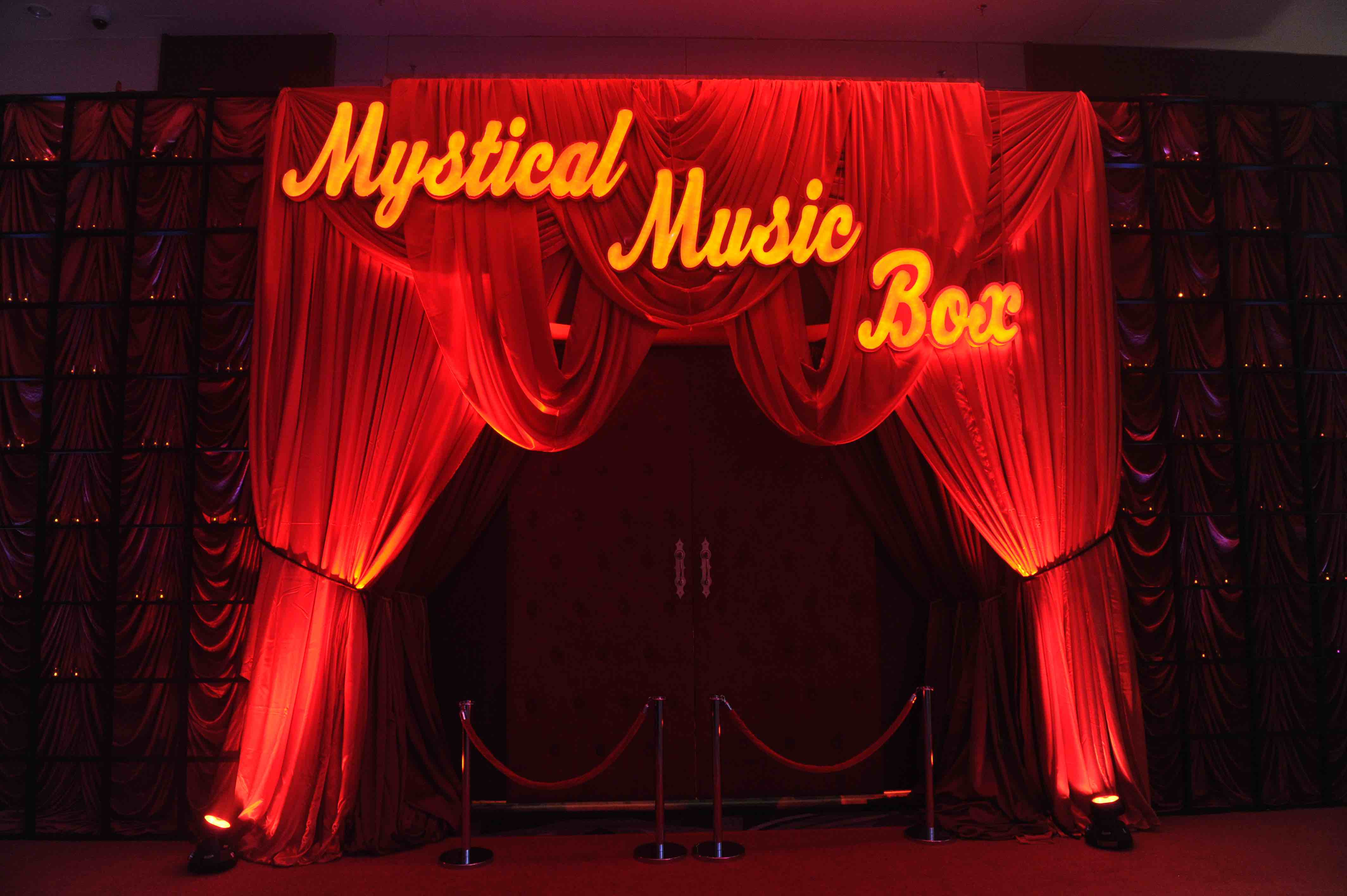 Mystical Music Box Entrance
