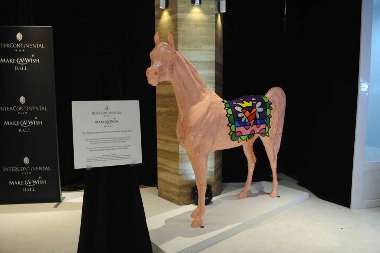 Romero Britto Pink Horse