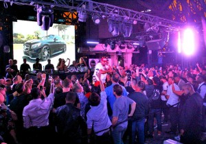 E-40 Performs for SEMA Crowd at Chateau Nightclub haute living las vegas