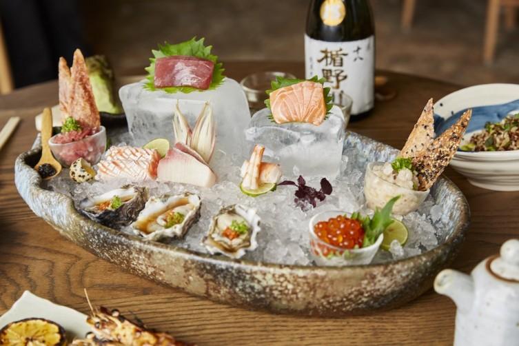 Etaru sashimi platter Photos by Michael Pissari (9)