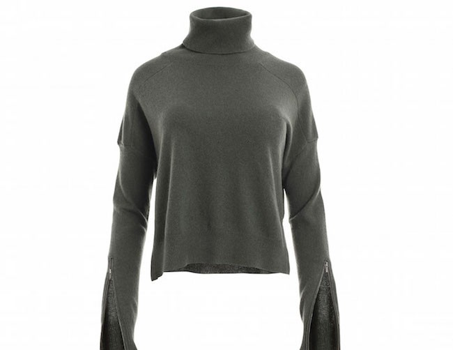 Cropped Turtleneck from Minnie Rose