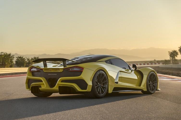 Hennessey Venmo F5 World's First 300mph Road Car las vegas haute living tita carra