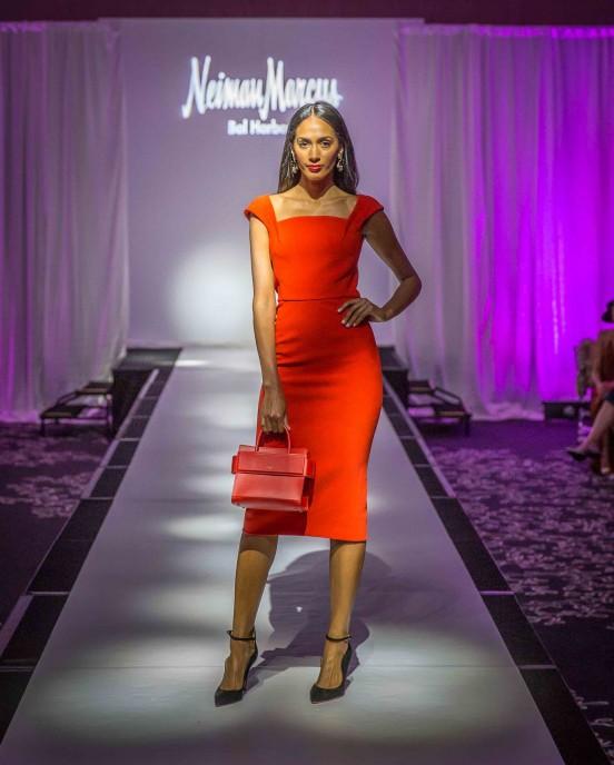 Neiman Marcus Fashion Show at Haute Tea
