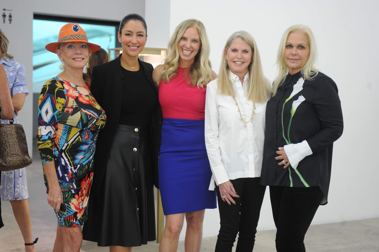 Kathy Simkins, Violet Camacho, Michelle Rubell, Barbara Kaufman, & Mercedes Carlson