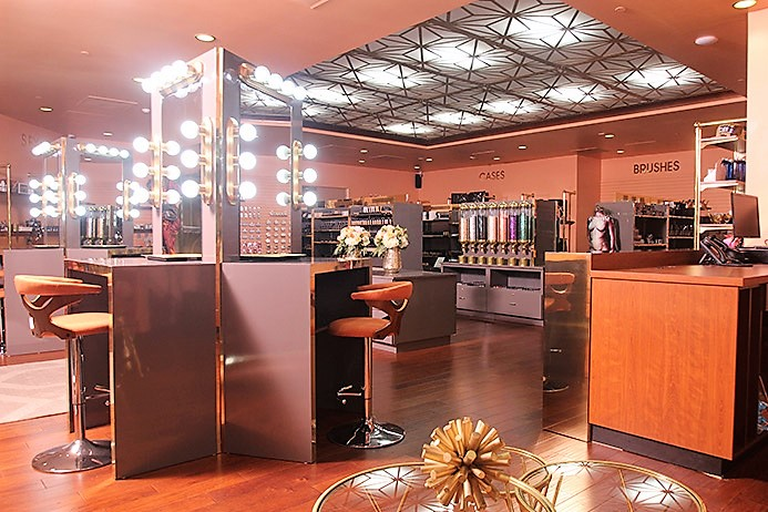 Shop Like A Pro Makeup Artist at L Makeup Institute summerlin haute living tita carra