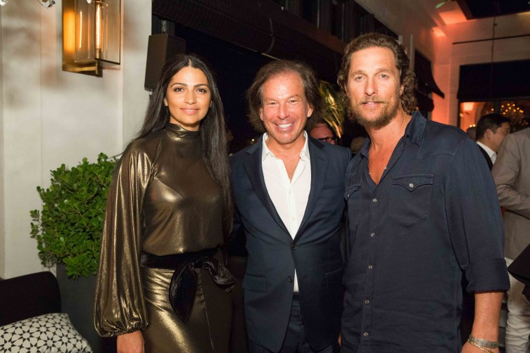 RH with Matthew McConaughey and