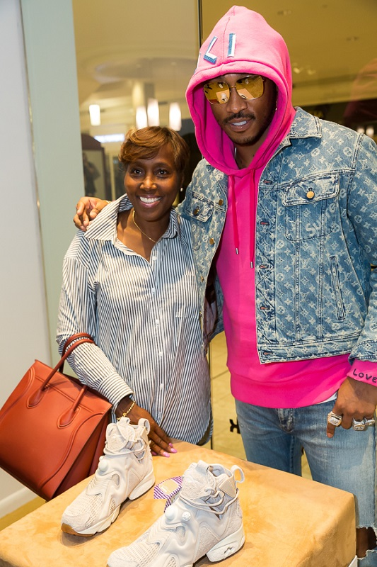 Future with his mother