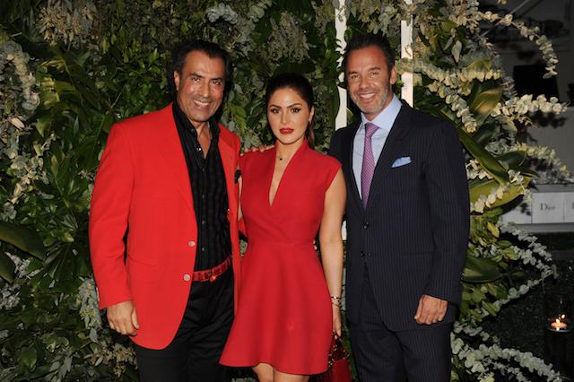 L to R: Masoud Shojaee, Stephanie Mejia, & Jay Parker