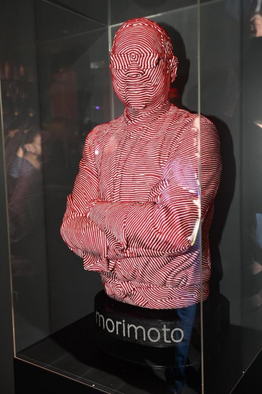 9 Restaurants With Hidden Fine Art In Las Vegas Morimoto Rope Statue Mozart Guerra Haute Living