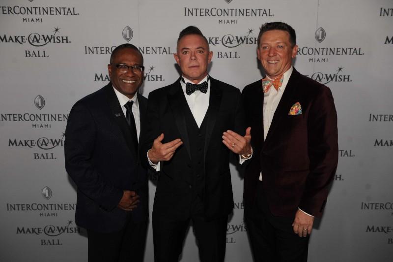 Norm Wedderburn, Shareef Malnik, & Robert Hill