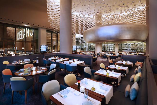 9 Restaurants With Hidden Fine Art In Las Vegas Rivea Haute Living