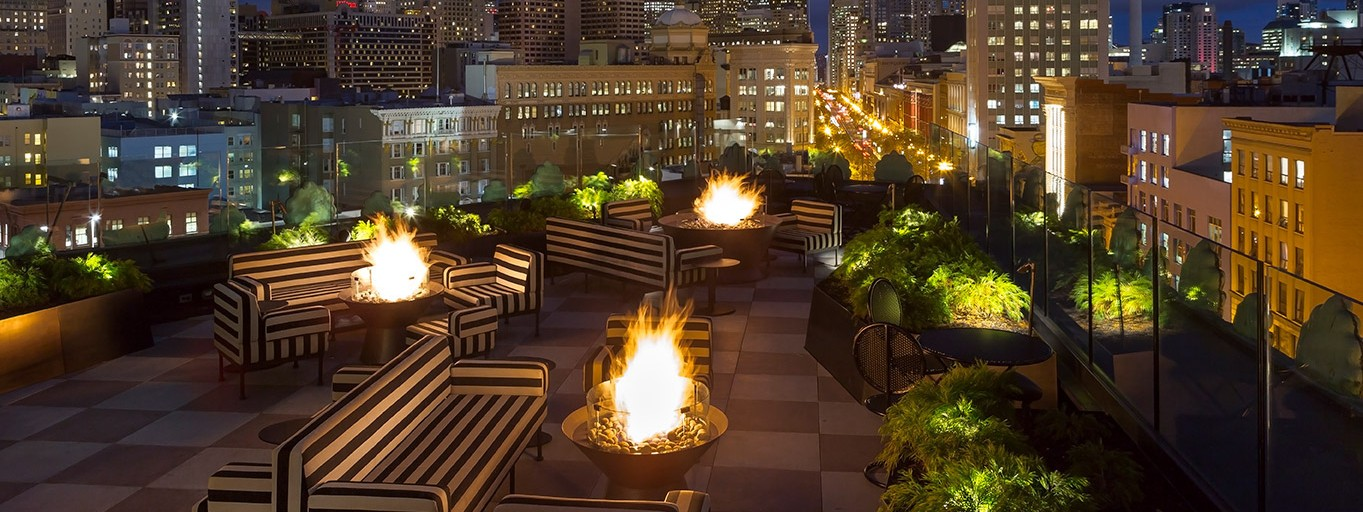 Stylish Proper Hotel Brings Rooftop Lounge To Market Street