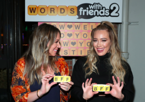 Alessandra Ambrosio, Hilary Duff, and More Celebrate Words With Friends Anniversary haute living tita carra