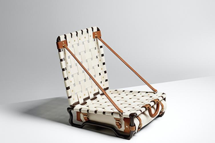 Beach Chair by Maarten Baas