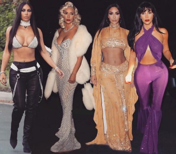 Image result for kim kardashian halloween looks