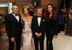 Shareef Malnik, Gabrielle Anwar, Al Malnik & Nancy Malnik