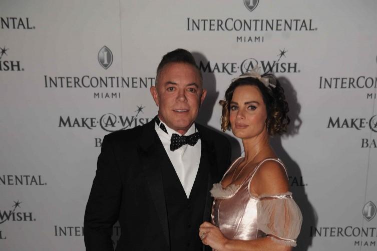 Shareef Malnik and Gabrielle Anwar
