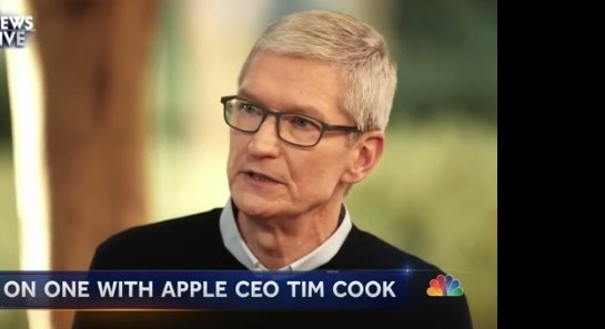 Tim Cook Believes Social Media Is Being Used To Manipulate and Divide Us