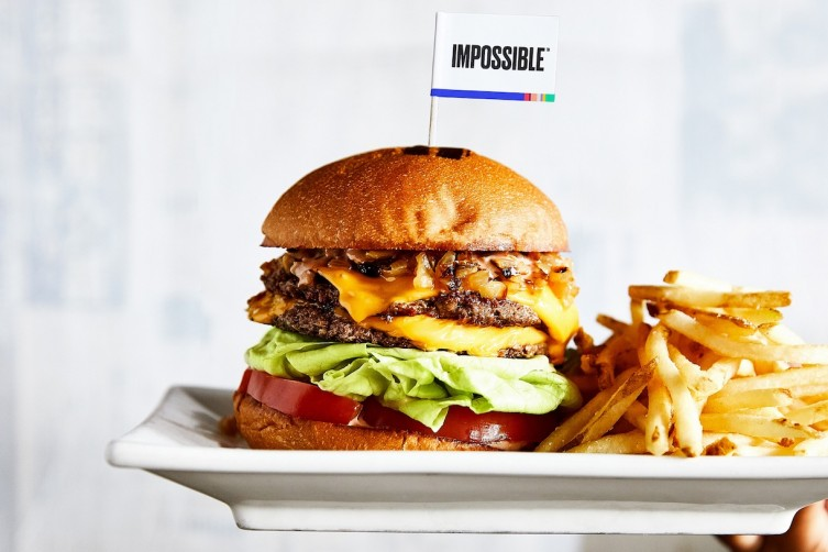 The Umami Burger That Bleeds Like A Real Burger Is Made Of Plants