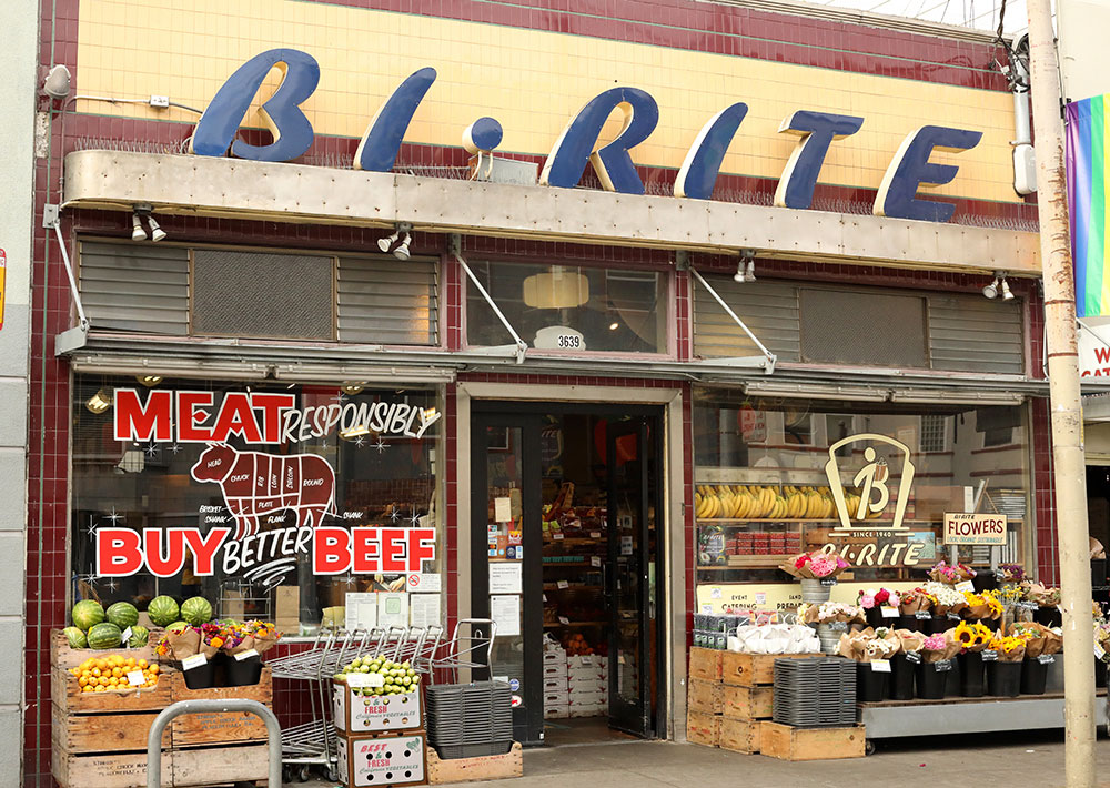 Bi-Rite's market in the Mission