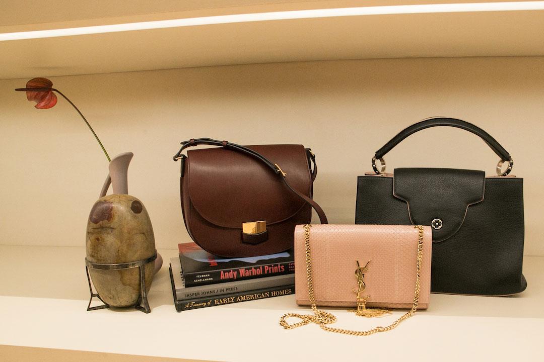 Designer handbags at the RealReal