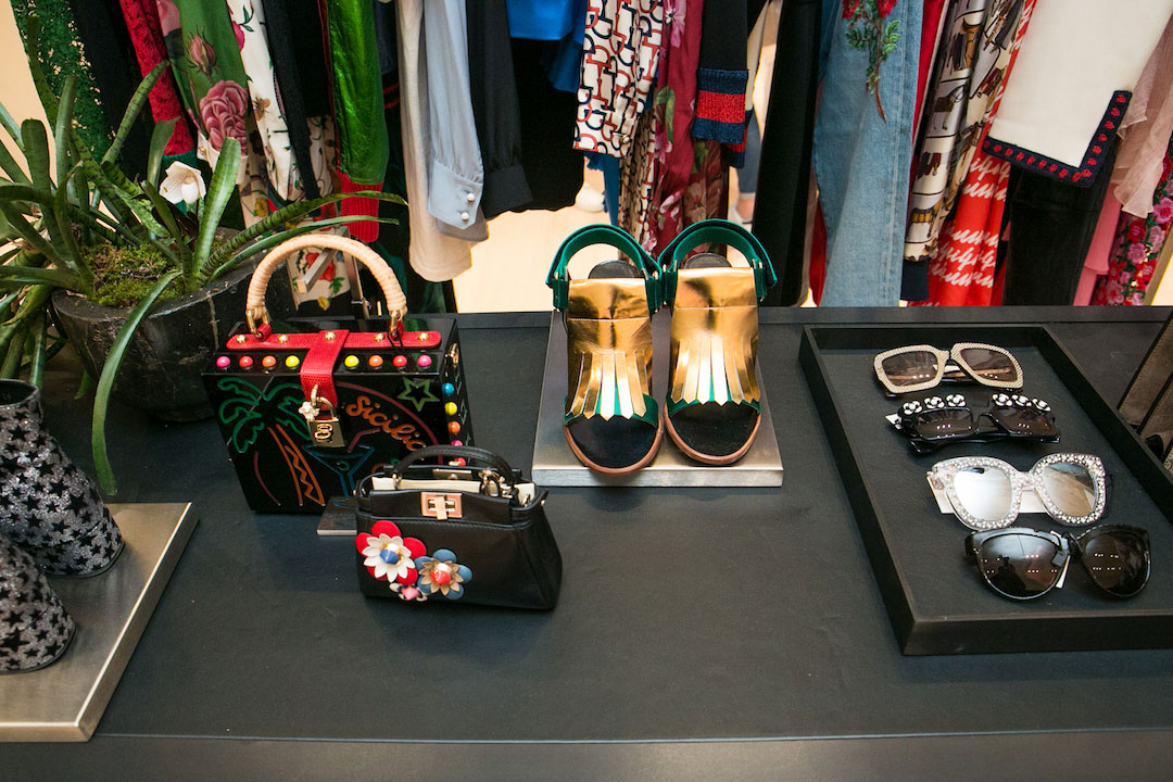 Accessories and shoes can be found at the RealReal's new shop