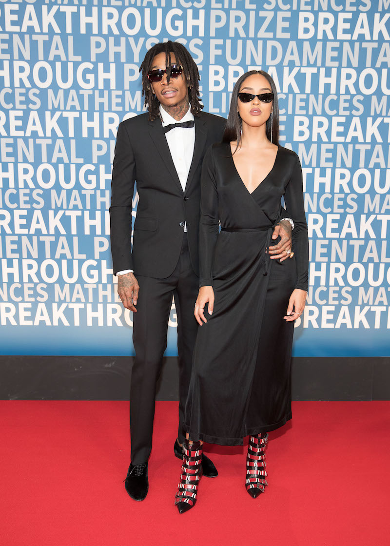 Wiz Khalifa and Izabela Guedes