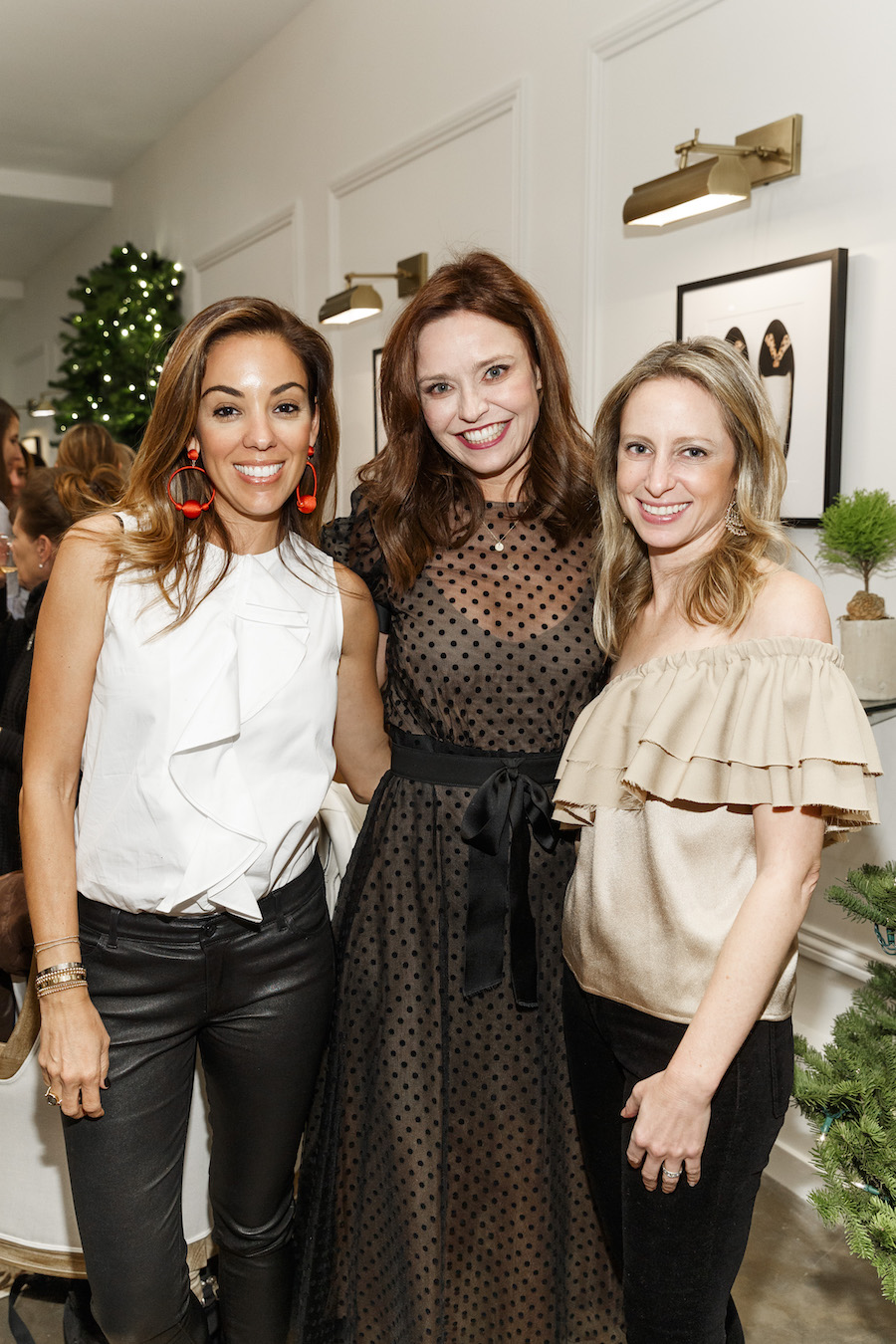 Bianca Gates, Kristen Green and Marisa Sharkey at the event