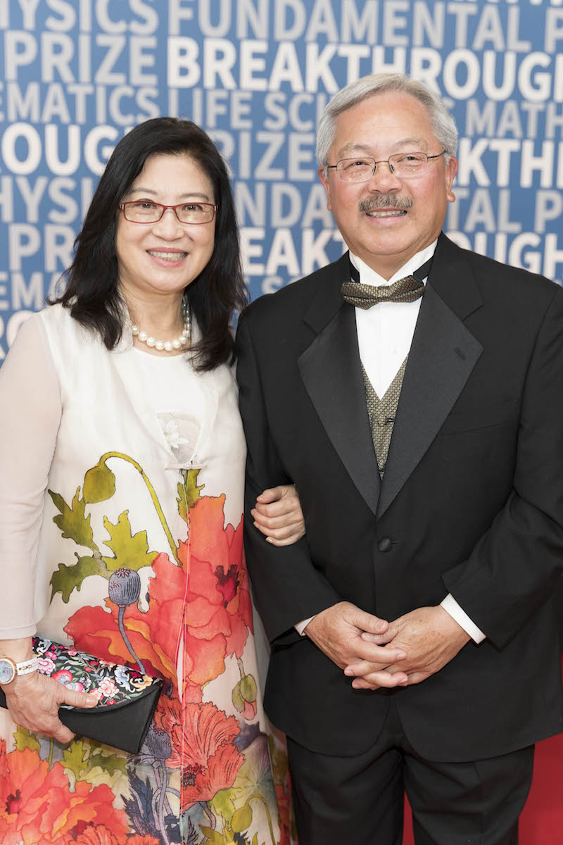 Anita Lee and Ed Lee