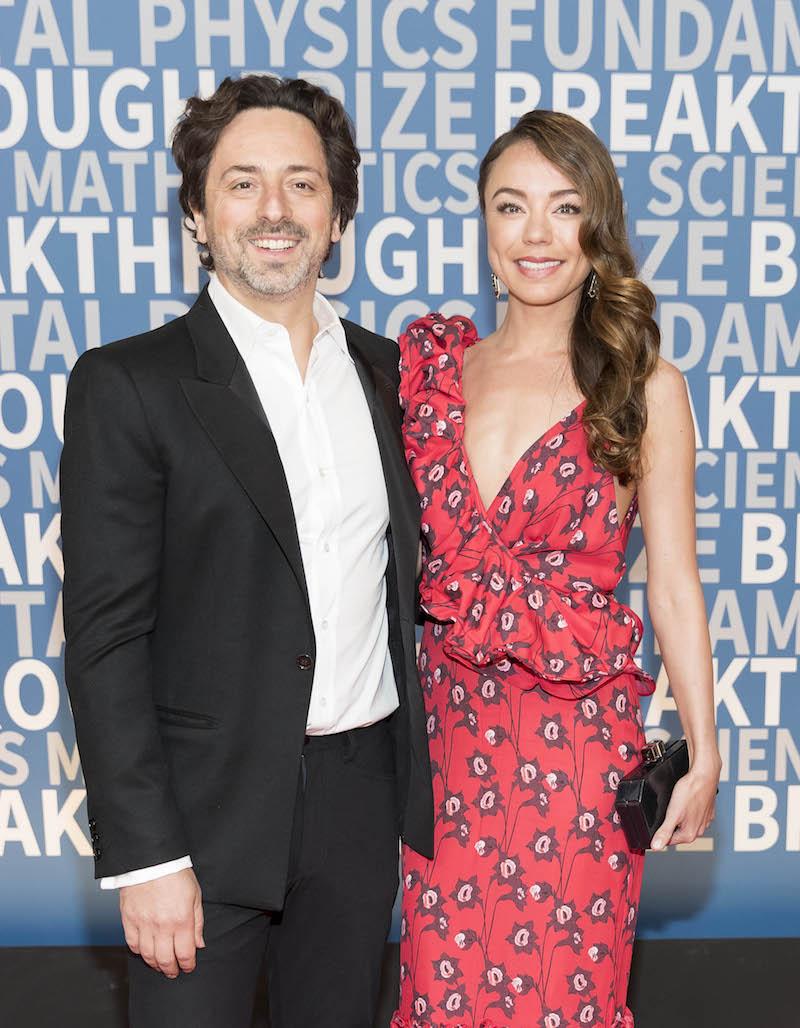 Sergey Brin and Nicole Shanahan