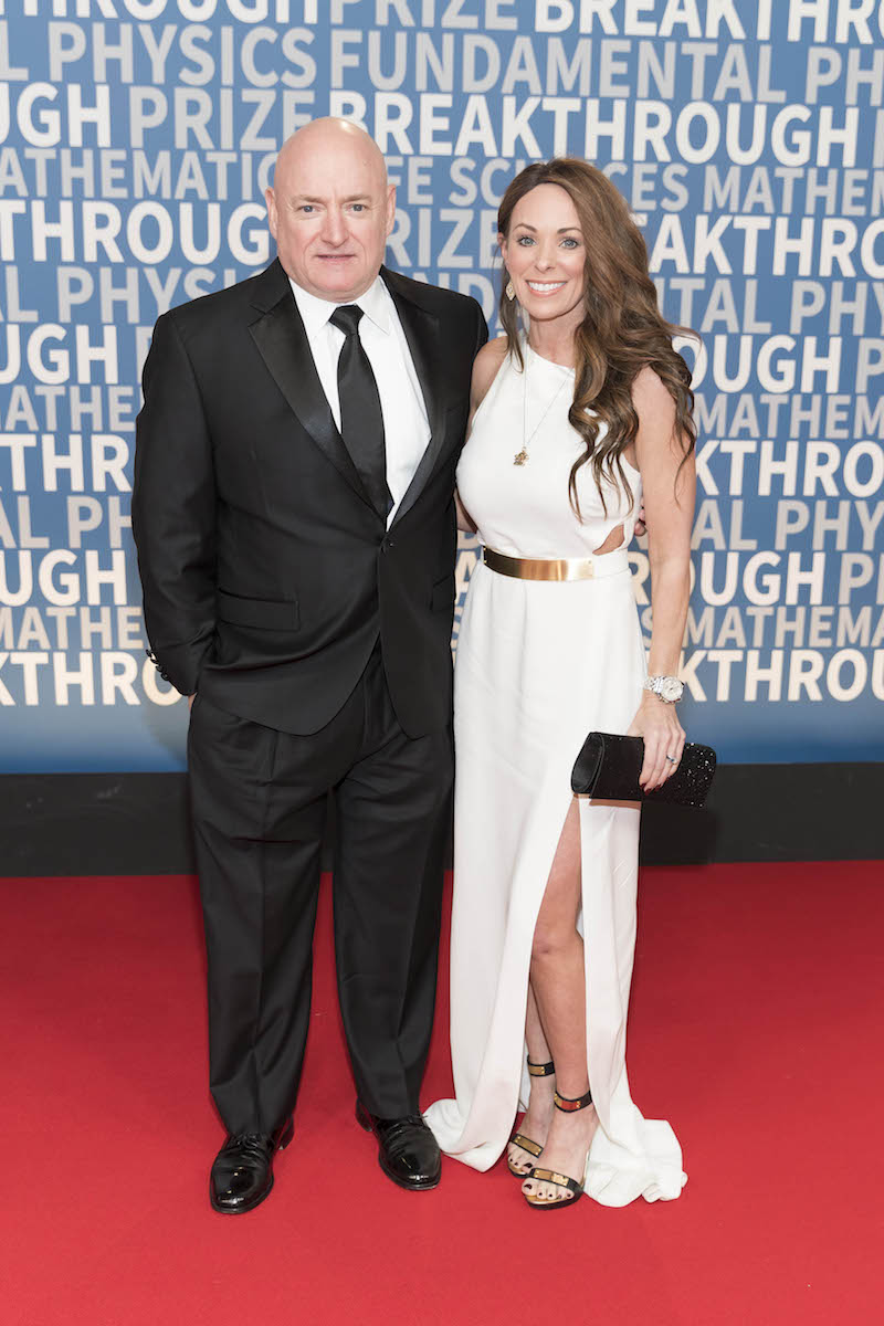 Scott Kelly and Amiko Kauderer