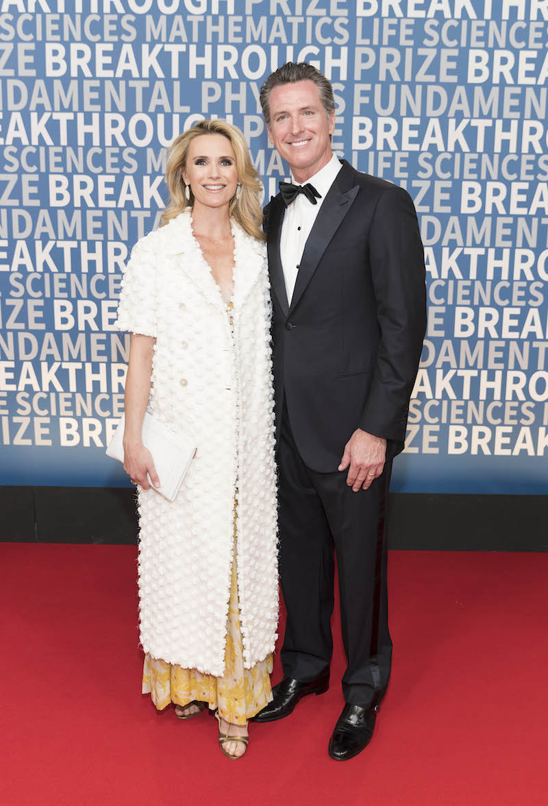 Jennifer Siebel Newsom and Gavin Newsom