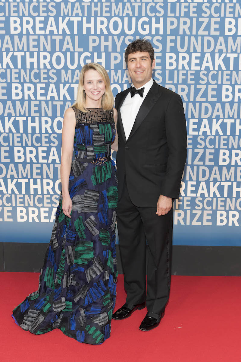 Marissa Mayer and Zachary Bogue