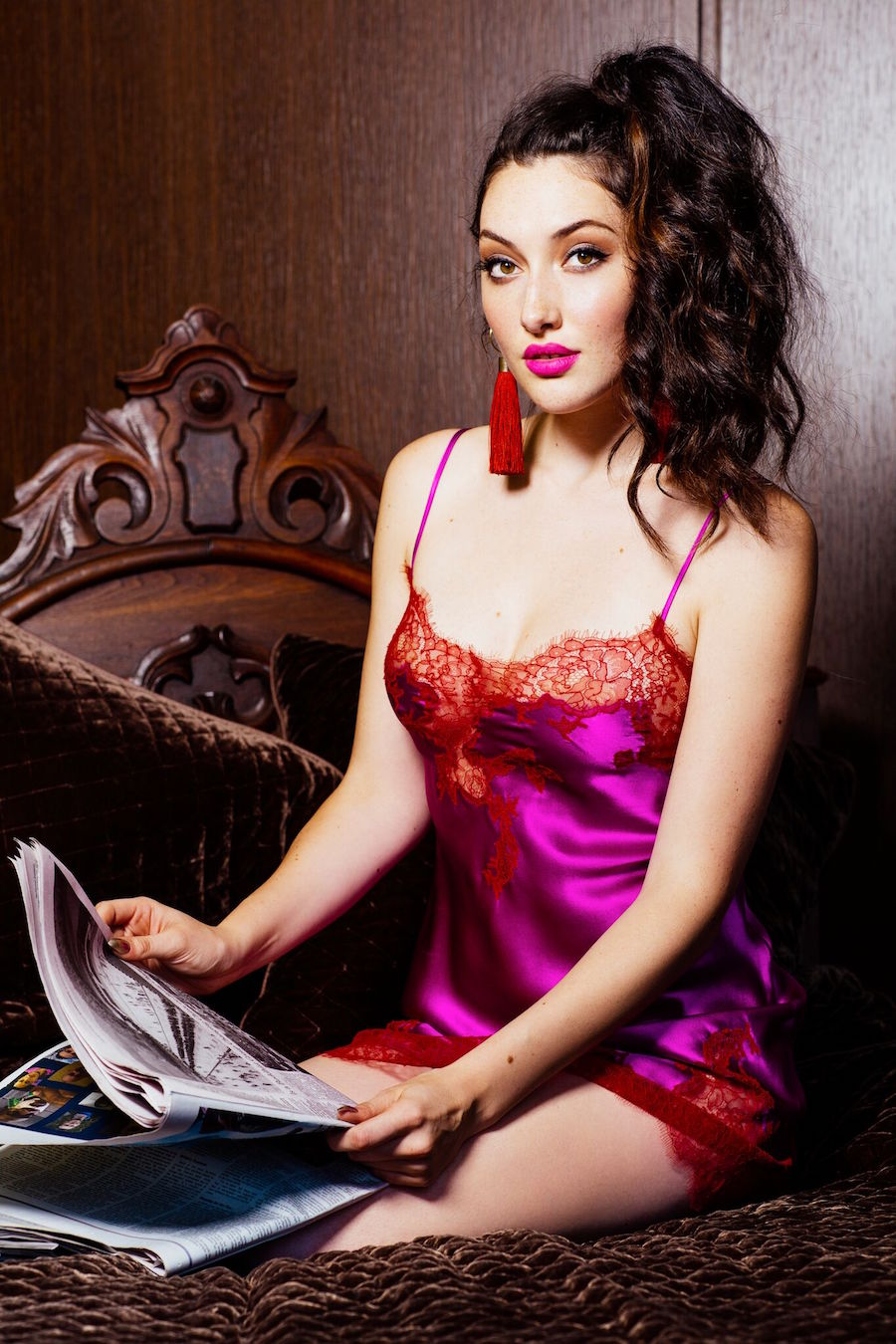 A look from the current selection of lingerie at Jane's Vanity