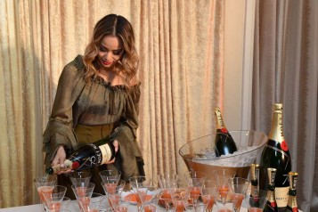 Moet & Chandon Celebrates The 75th Annual Golden Globe Awards Menu Preview