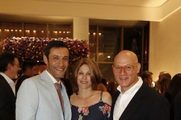 Alain Bernard, & Stacy & Craig Robins