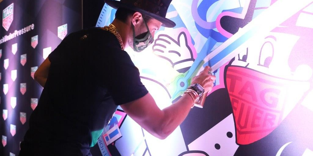 TAG Heuer And Alec Monopoly Kick Off Art Basel With Special Artwork