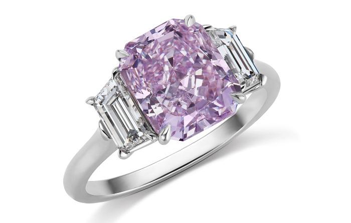 Barmakian JR-Fancy Pink diamond ring