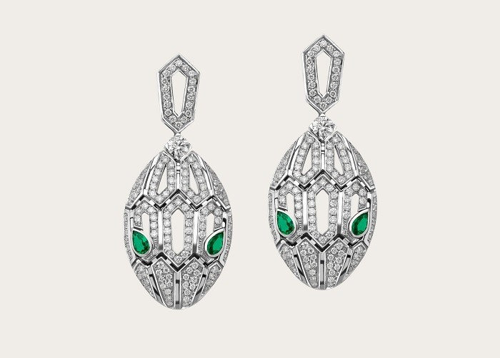 Bulgari Serpenti Earrings