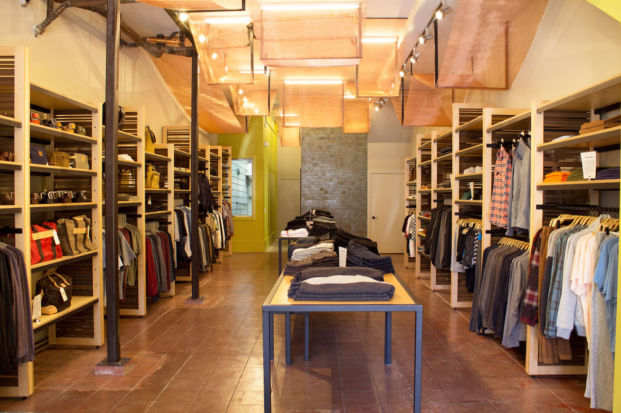 Convert's SF boutique in Hayes Valley