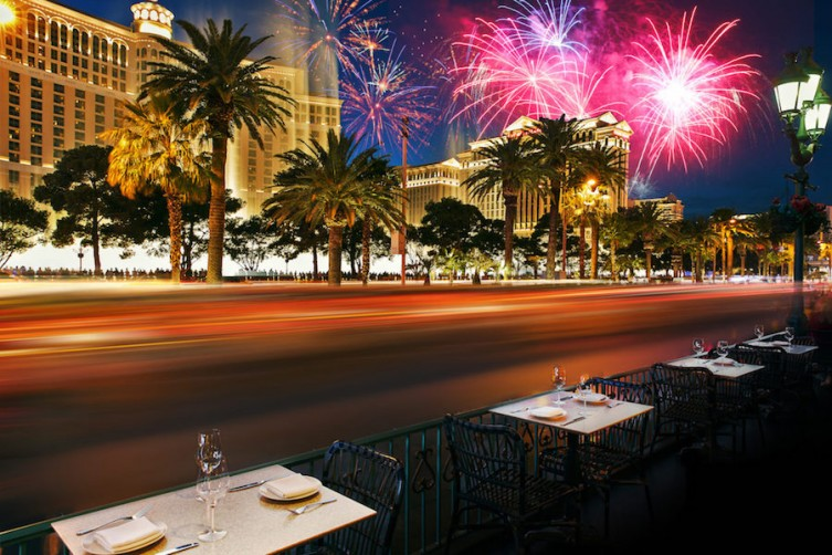 The Best Places To See Fireworks On The Las Vegas Strip