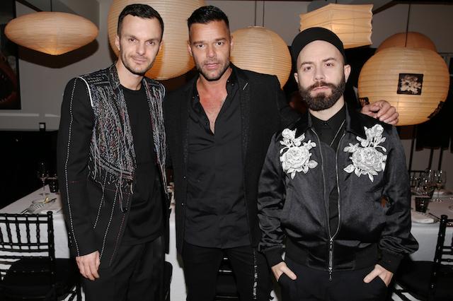 Kris Van Assche, Ricky Martin & Woodkid