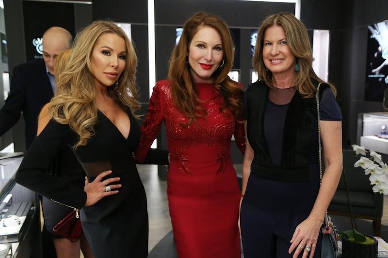 Lisa Hochstein, Tara Solomon and Dana Shear