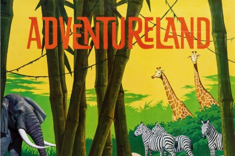Adventureland Attraction Poster