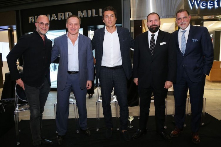 Michael Friedman, Lenny Hochstein, Fabian Basabe, Manny Machado and Ruben Oliva