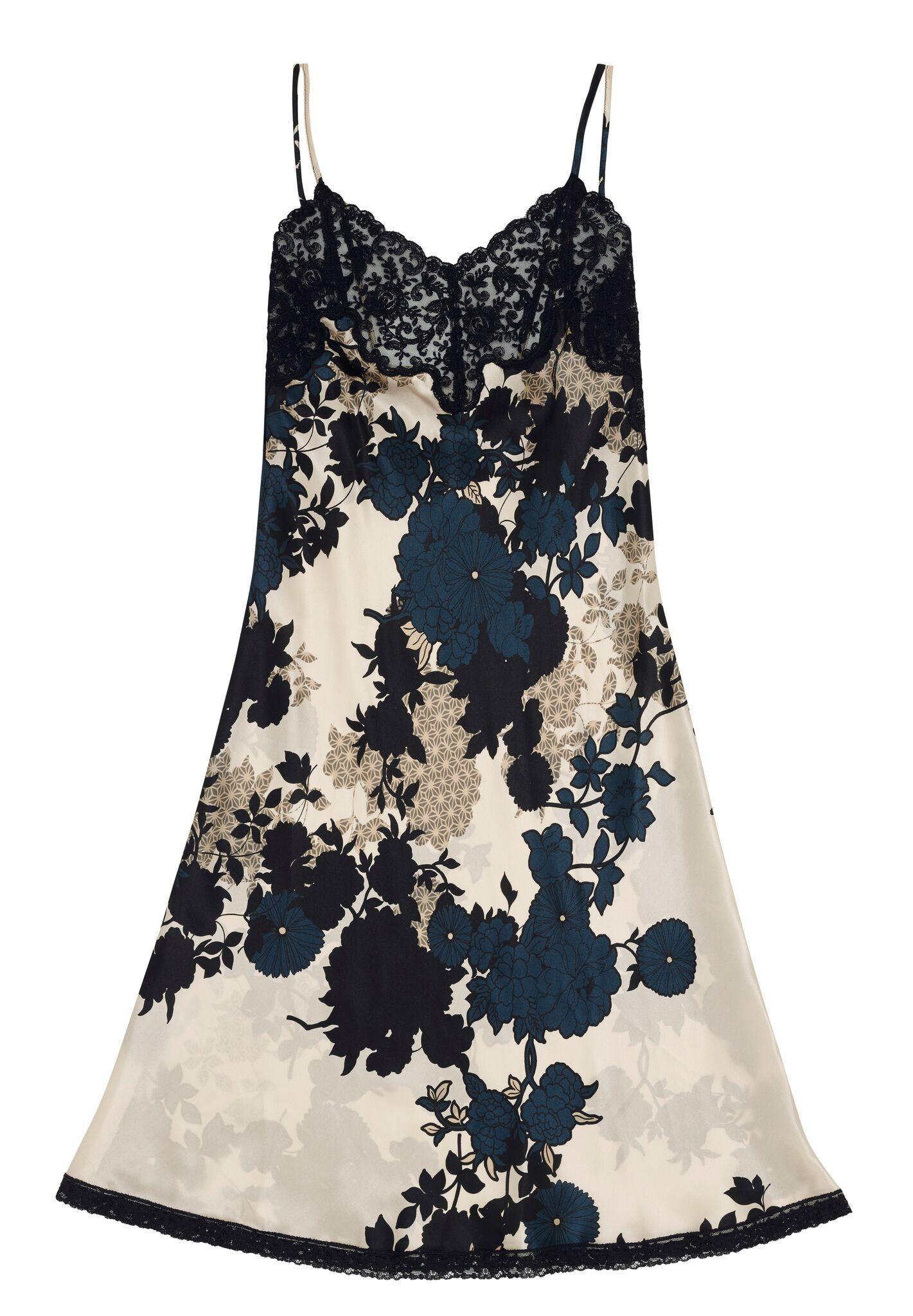 Morpho + Luna Paris Floral Silk Chemise